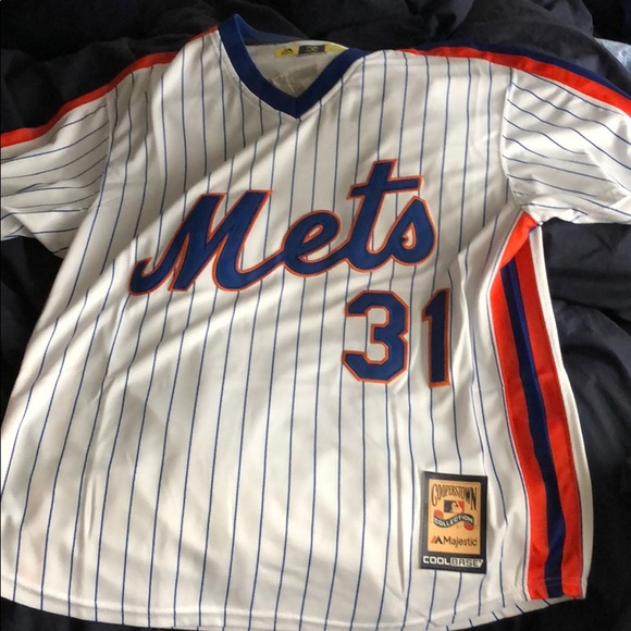 huge selection of 167e6 4697c Throwback Mets Mike Piazza, Cooperstown Collection